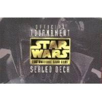 star wars ccg anthologies sealed deck premium