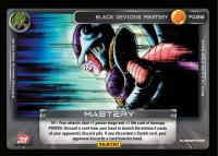 dragonball z base set black devious mastery