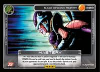 dragonball z base set black devious mastery starter