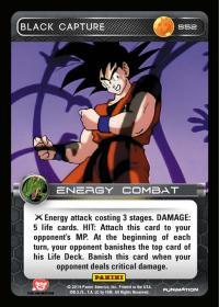 dragonball z base set black capture