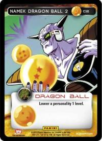 dragonball z base set namek dragon ball 2