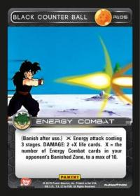 dragonball z heroes and villains black counter ball