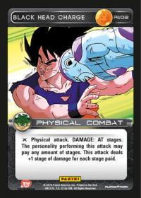 dragonball z heroes and villains black head charge
