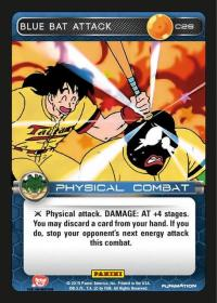 dragonball z heroes and villains blue bat attack foil