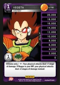 dragonball z heroes and villains vegeta impatient