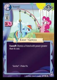 my little pony the crystal games yoink foil