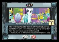 my little pony the crystal games accessorize the crystal ponies