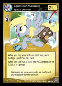my little pony the crystal games equestrian mailmare special delivery foil