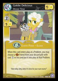 my little pony the crystal games goldie delicious dinner time foil
