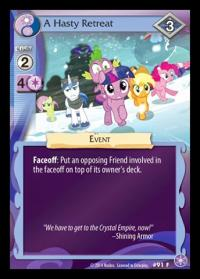 my little pony the crystal games a hasty retreat