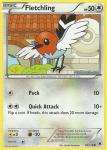 pokemon xy phantom forces fletchling 89 119