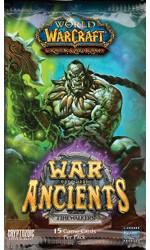 warcraft tcg warcraft sealed product war of the ancients booster pack