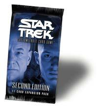 star trek 2e star trek 2e sealed product 2e premiere booster pack