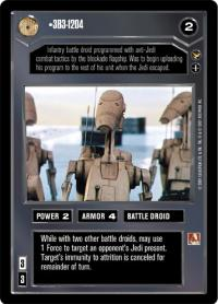 star wars ccg theed palace 3b3 1204