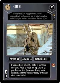 star wars ccg theed palace 3b3 21