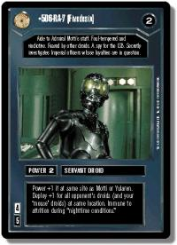 star wars ccg premiere limited 5d6 ra 7