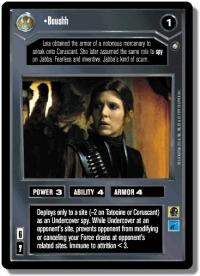 star wars ccg enhanced boushh