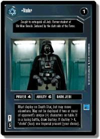 star wars ccg anthologies sealed deck premium vader