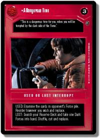 star wars ccg dagobah revised a dangerous time wb