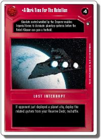 star wars ccg hoth revised a dark time for the rebellion wb