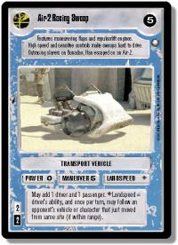 star wars ccg special edition air 2 racing swoop