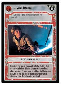 star wars ccg tatooine a jedi s resilience