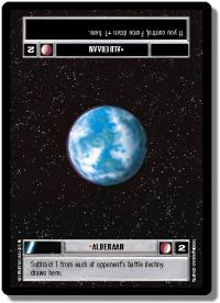 star wars ccg premiere limited alderaan dark