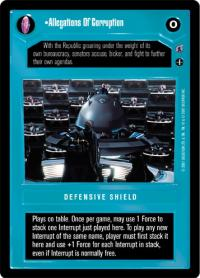 star wars ccg reflections iii premium allegations of corruption