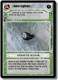 star wars ccg hoth limited anakin s lightsaber