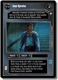 star wars ccg special edition anoat operative dark