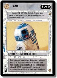 star wars ccg jabbas palace artoo
