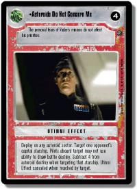star wars ccg dagobah revised asteriods do not concern me wb
