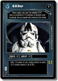 star wars ccg hoth limited at at driver