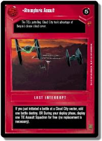 star wars ccg cloud city atmospheric assault