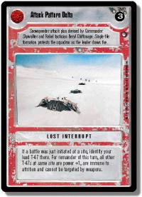 star wars ccg hoth limited attack pattern delta