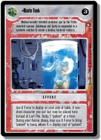 star wars ccg hoth limited bacta tank