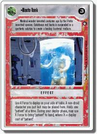 star wars ccg hoth revised bacta tank wb
