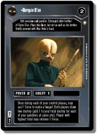 star wars ccg special edition barquin d an