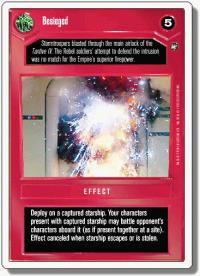 star wars ccg a new hope revised besieged wb
