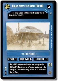 star wars ccg a new hope limited bespin motors void spider thx 1138