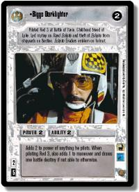 star wars ccg premiere limited biggs darklighter