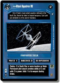 star wars ccg anthologies sealed deck premium black squadron tie