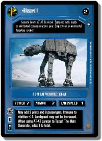 star wars ccg hoth limited blizzard 1