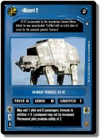 star wars ccg hoth limited blizzard 2