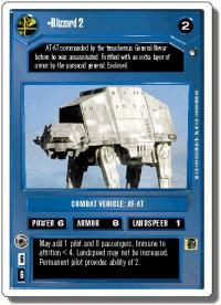 star wars ccg hoth revised blizzard 2 wb