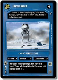 star wars ccg hoth limited blizzard scout 1
