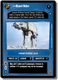 star wars ccg hoth limited blizzard walker