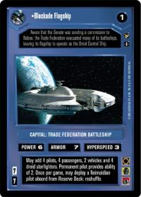 star wars ccg theed palace blockade flagship