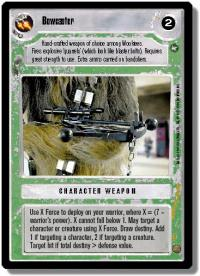 star wars ccg a new hope limited bowcaster