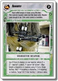 star wars ccg a new hope revised bowcaster wb